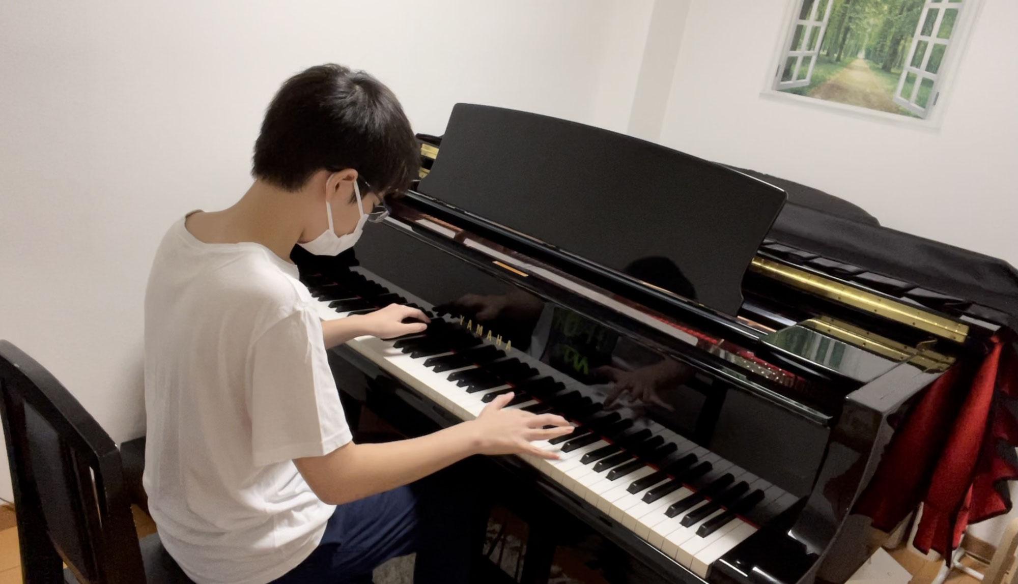 中高生もピアノ続けています♪