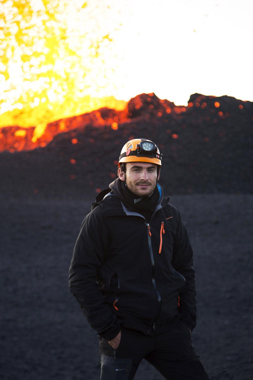 Ludovic LEDUC: la passion des volcans