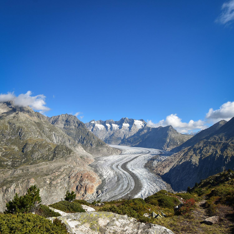 Drei- Seen- Wanderung Aletschgletscher