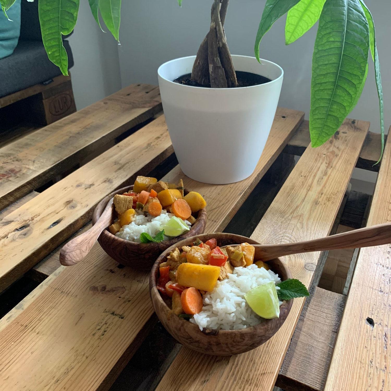 Kokos-Mango-Hühnchen
