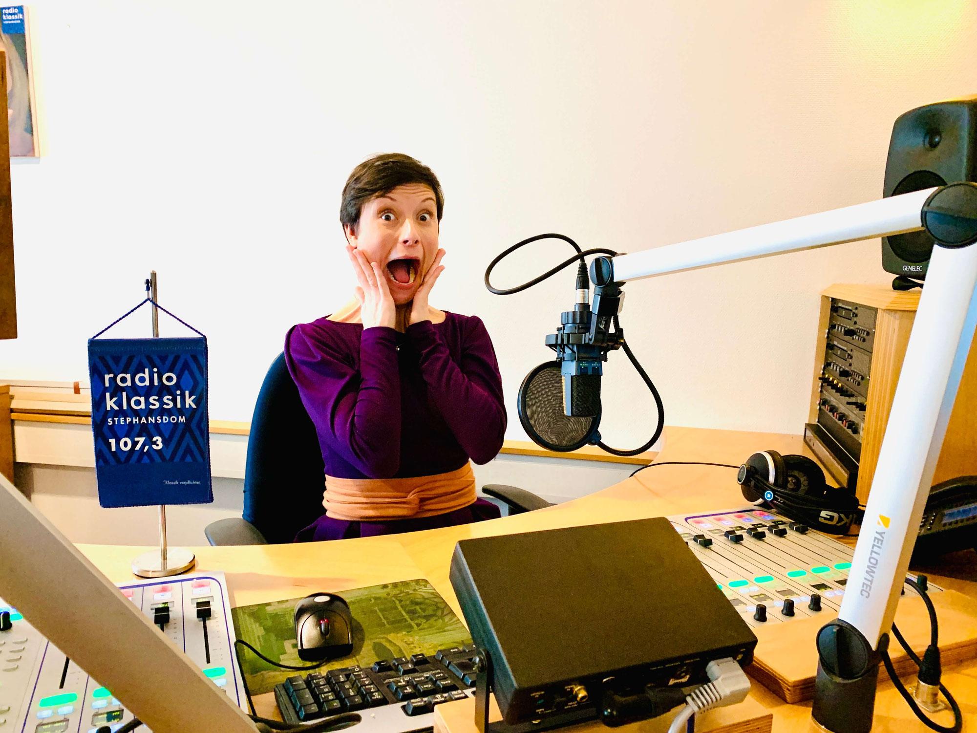 Im Interview mit Radio Klassik Stephansdom