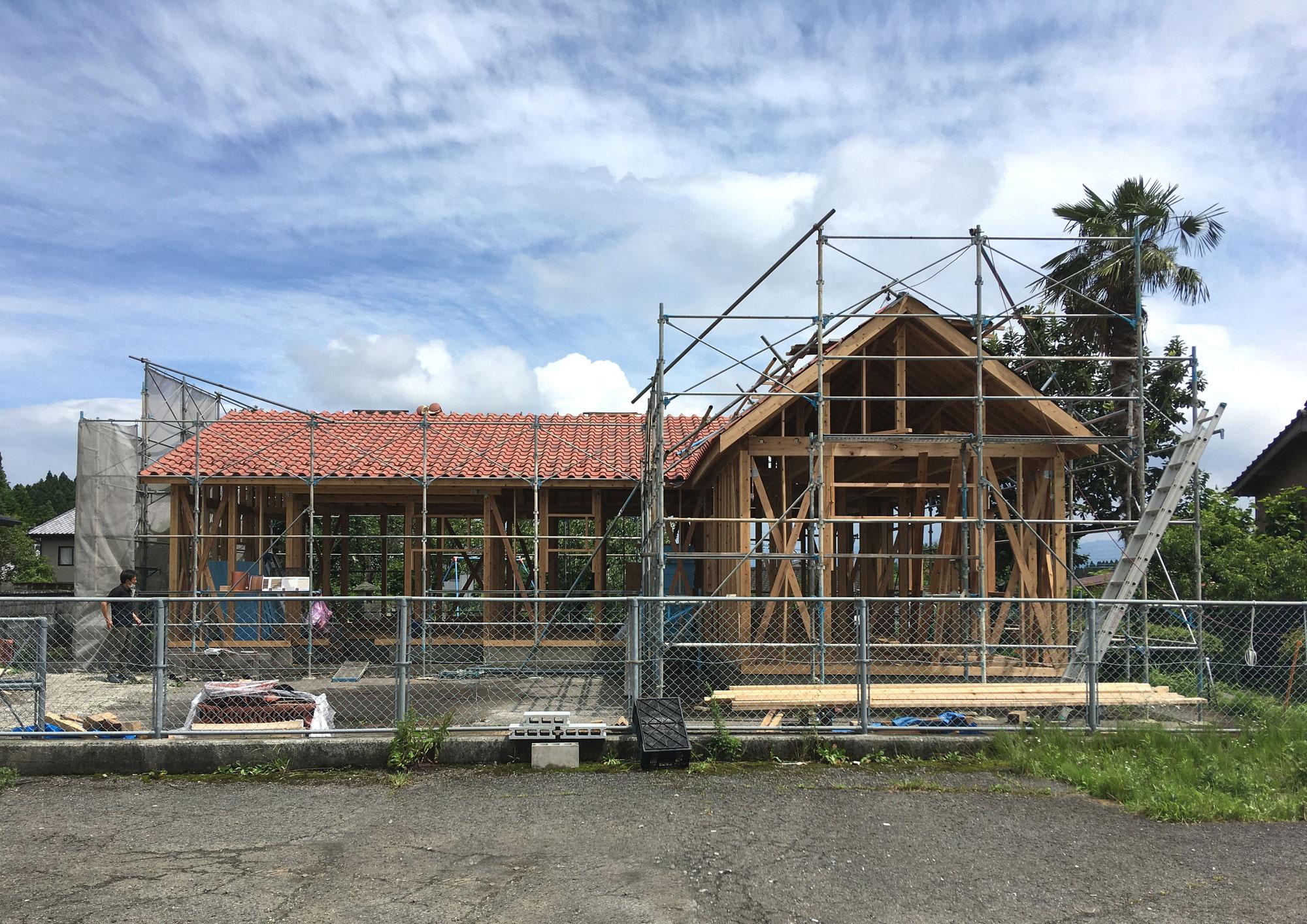 久住の家 屋根工事