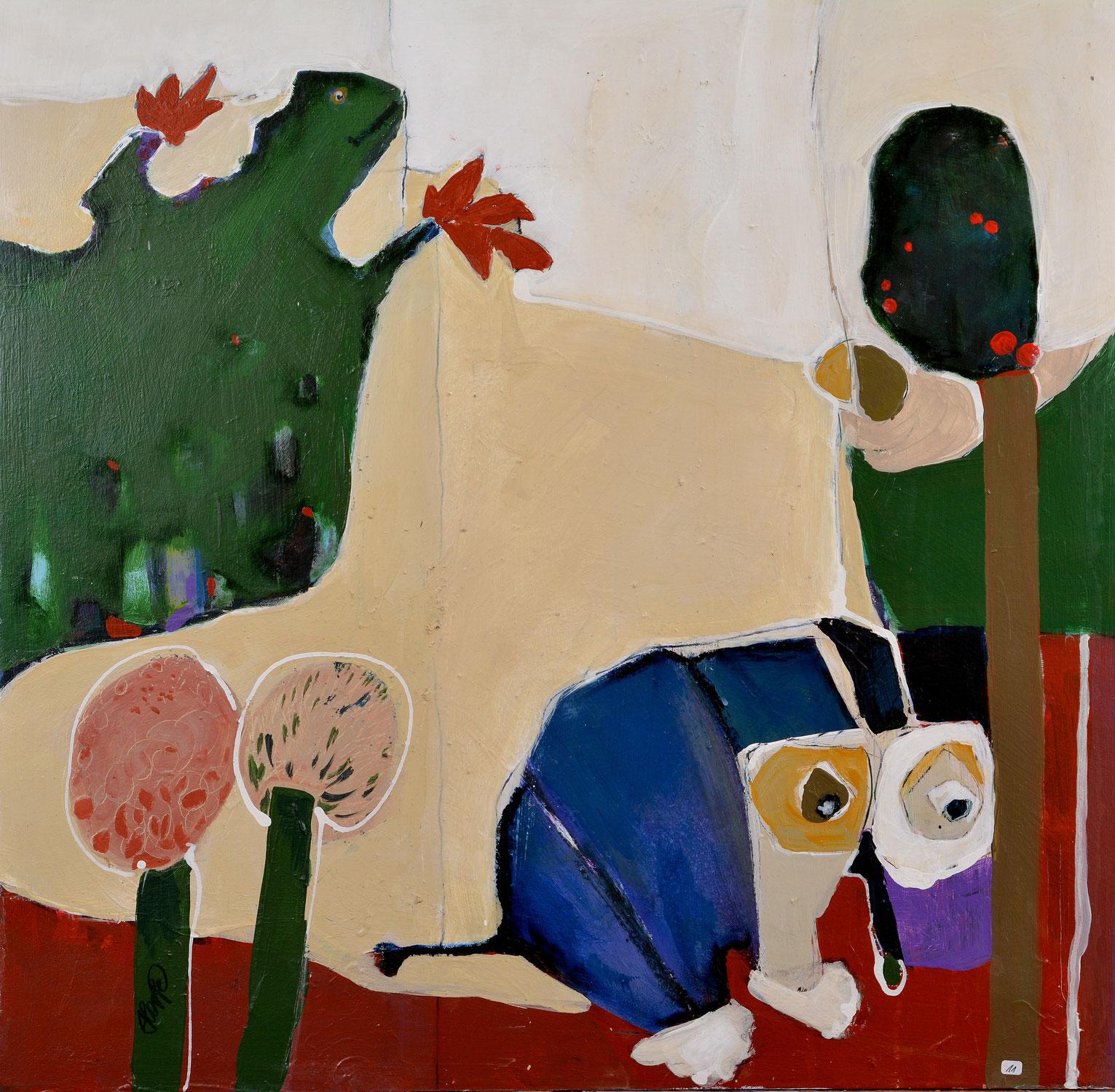 Der August im Schaufenster der Kunstgalerie