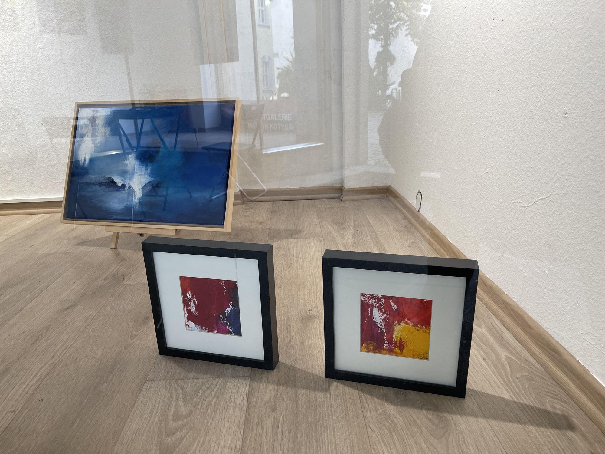 Werke von Annick Servant im Schaufenster