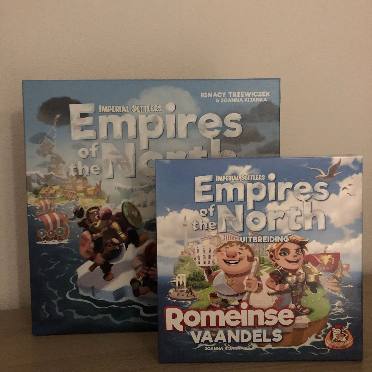Empires of the North & uitbreiding Romeinse Vaandels