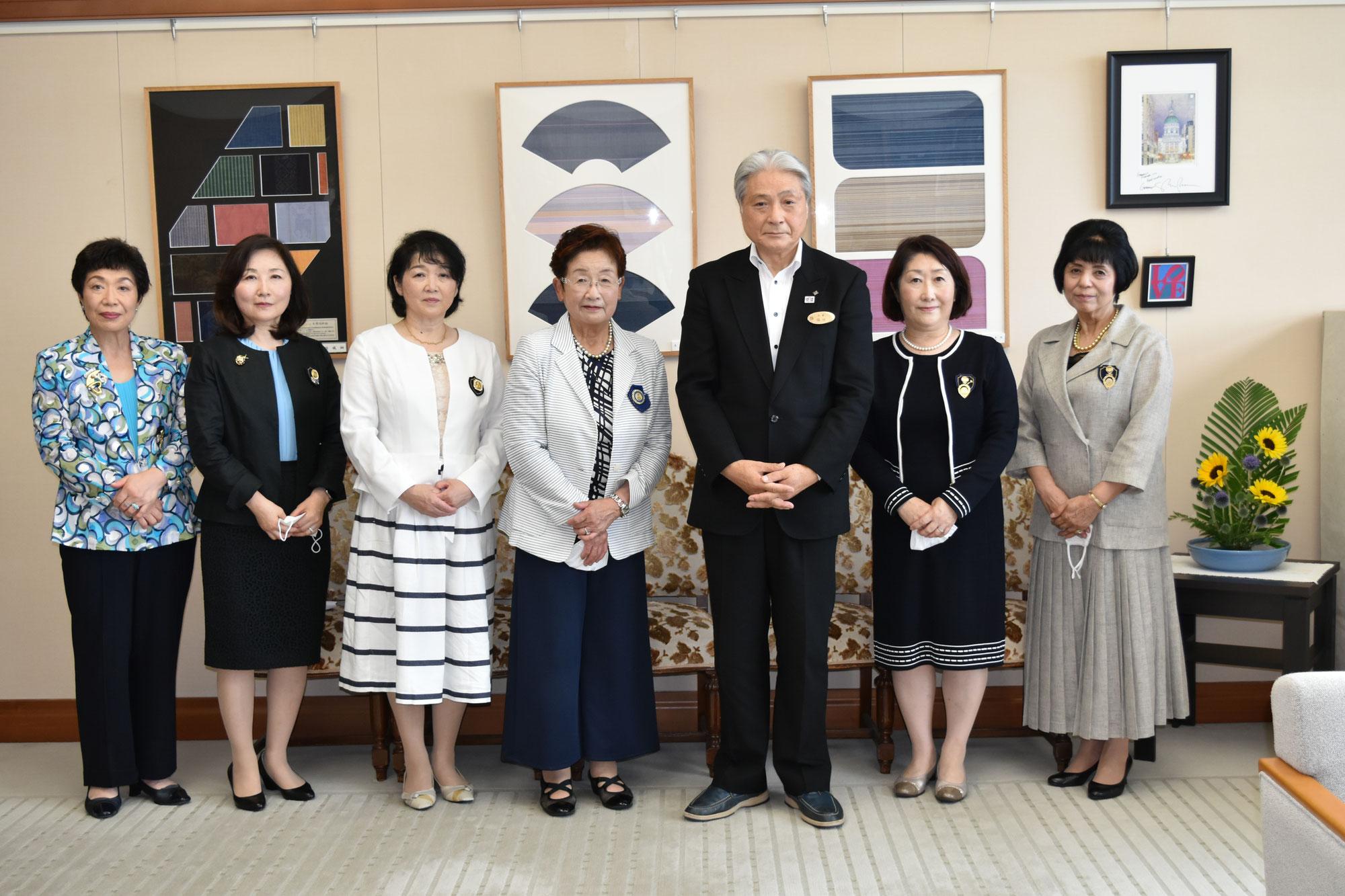 福田富一栃木県知事を表敬訪問