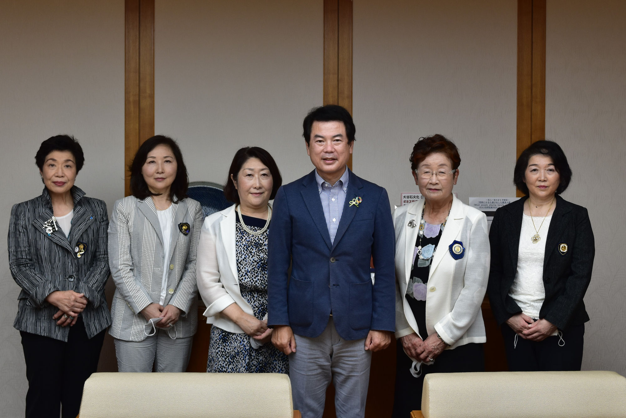 佐藤栄一宇都宮市長を表敬訪問