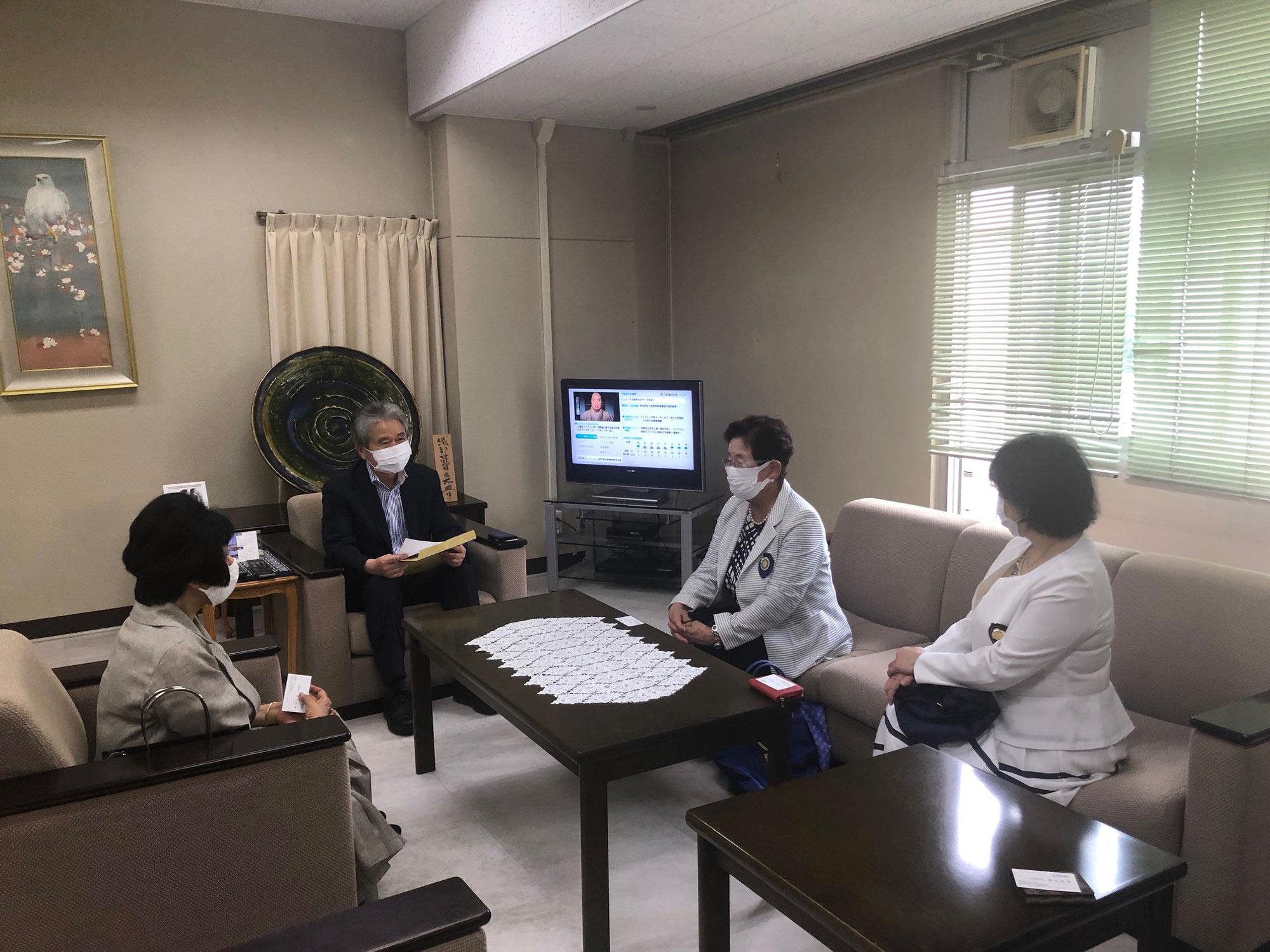 栃木テレビ訪問
