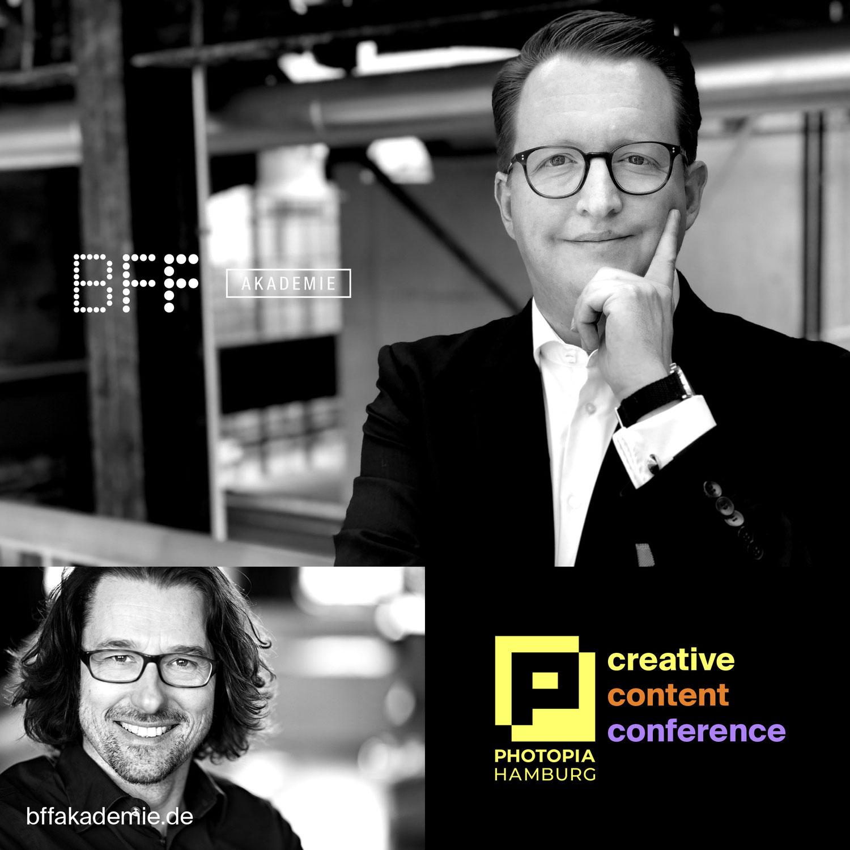 Speaker auf der PHOTOPIA Hamburg   Creative Content Conference