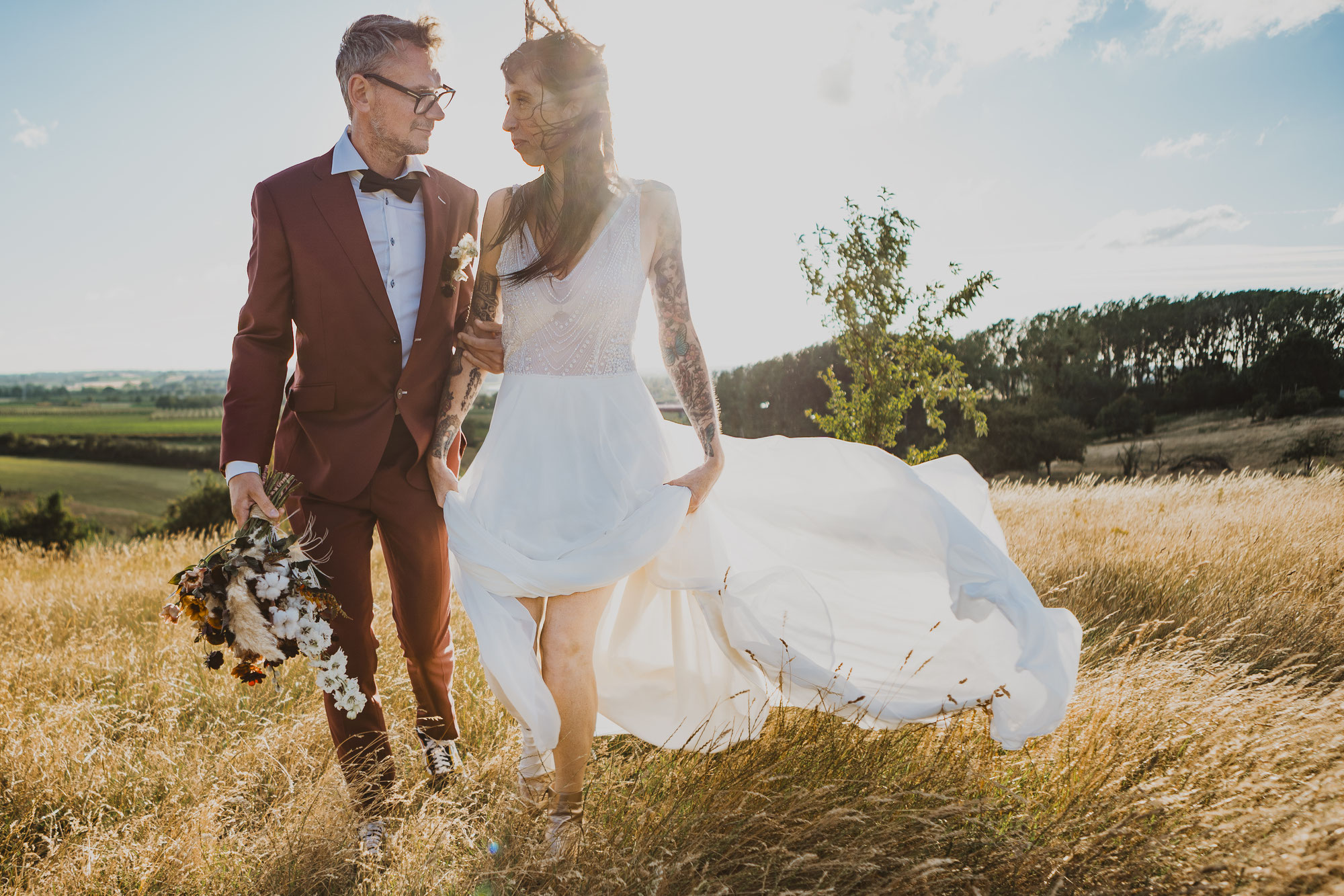 Our styled elopement got published!