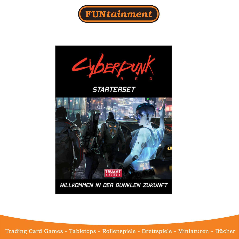 Cyberpunk RED Starteset - jetzt erhältlich
