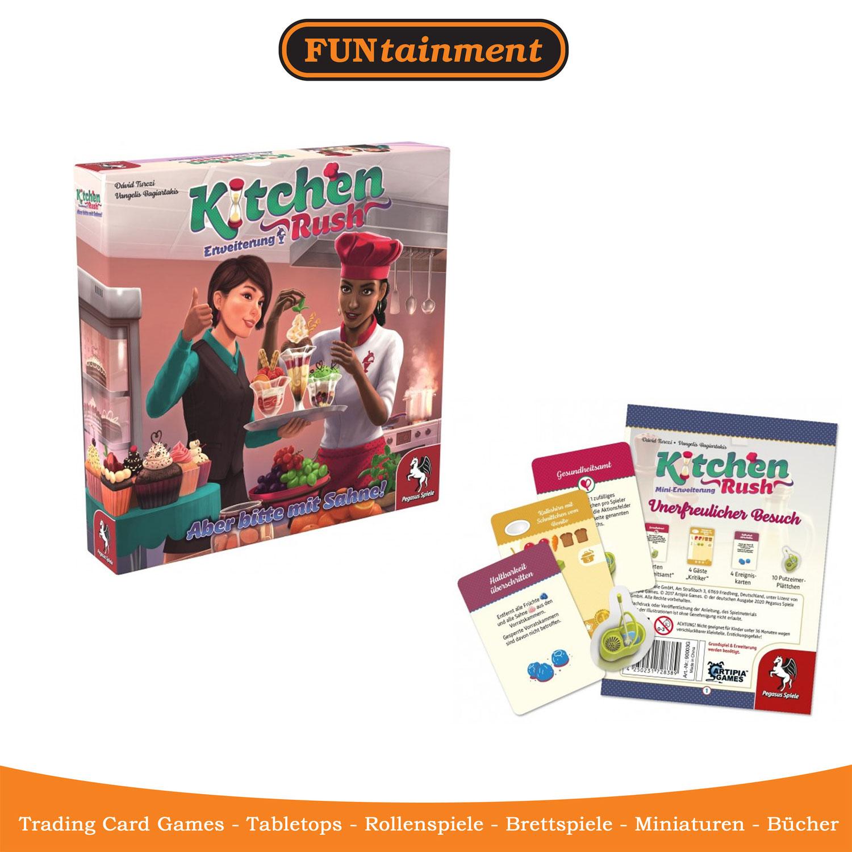 Kitchen Rush - Erweiterungen eingetroffen