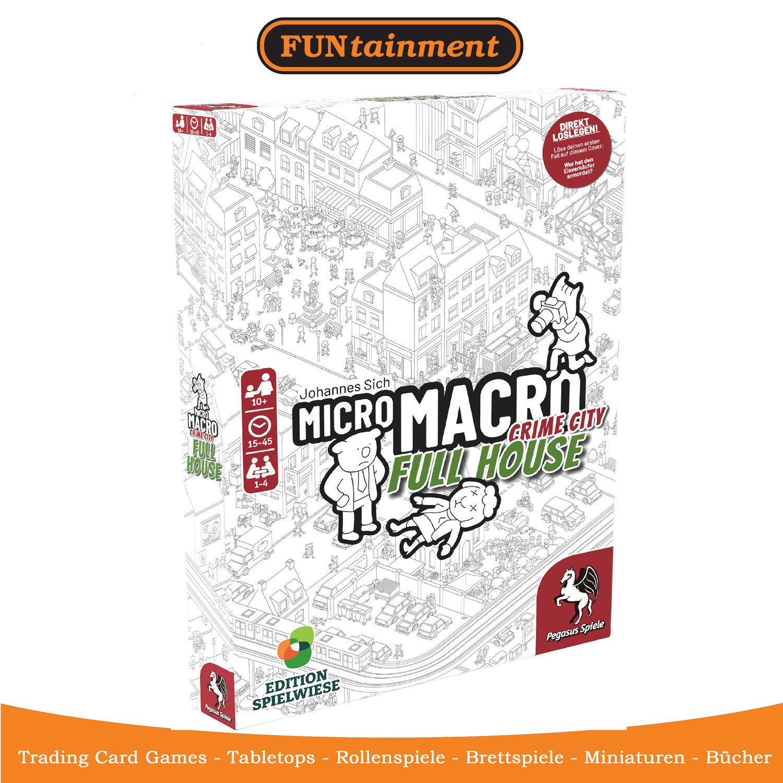 Micro Macro 2 - Erweiterungen eingetroffen
