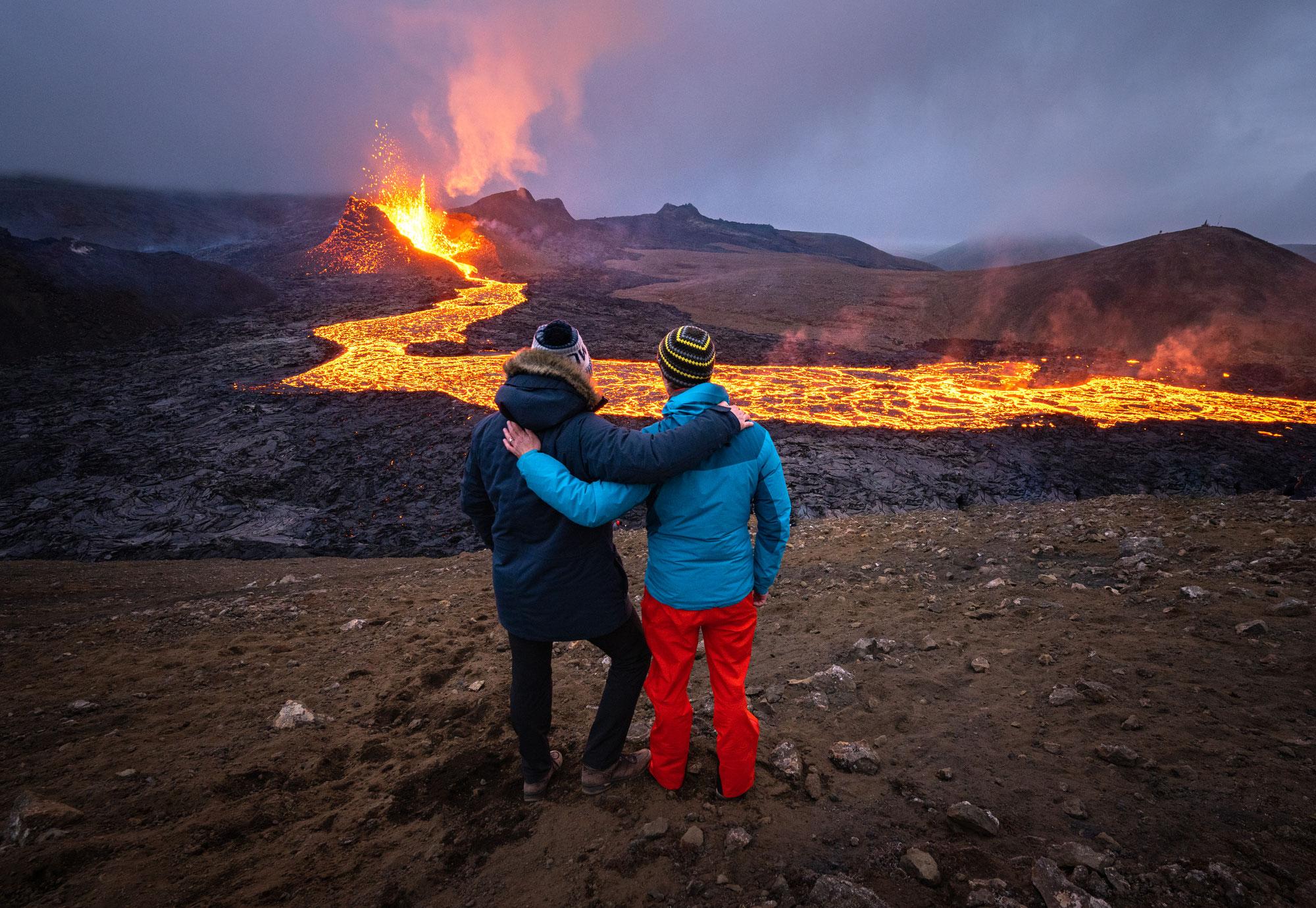 Fotoreise zum Vulkan Fagradalsfjall in Island