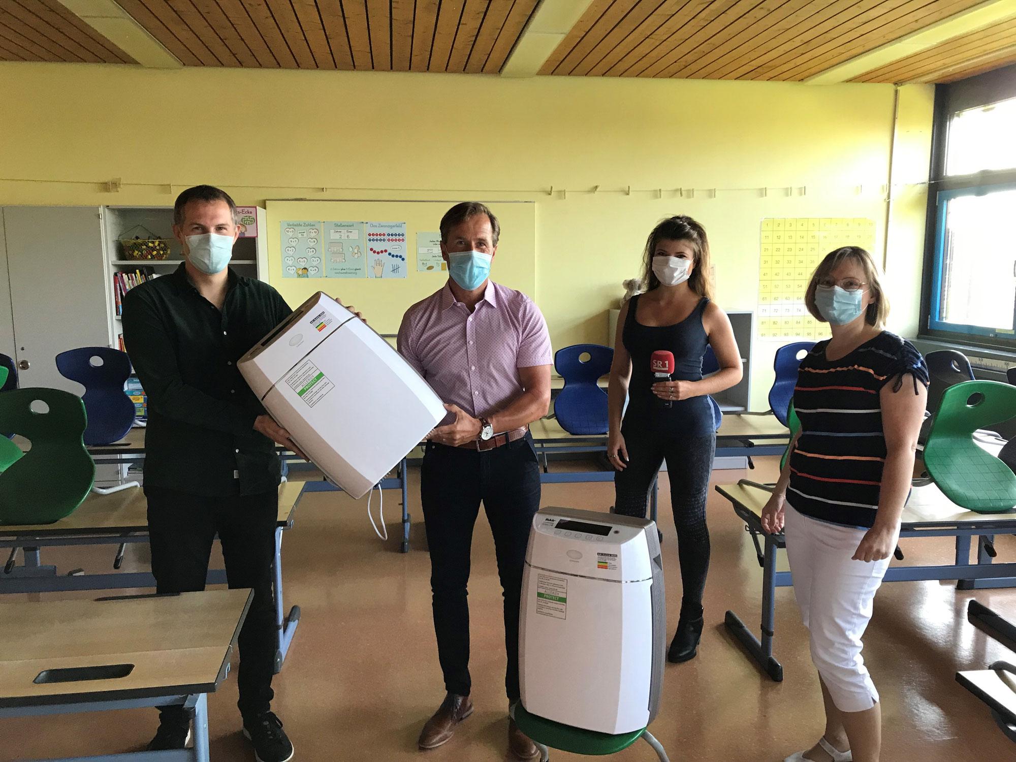 Luftreinigungsgeräte erhalten
