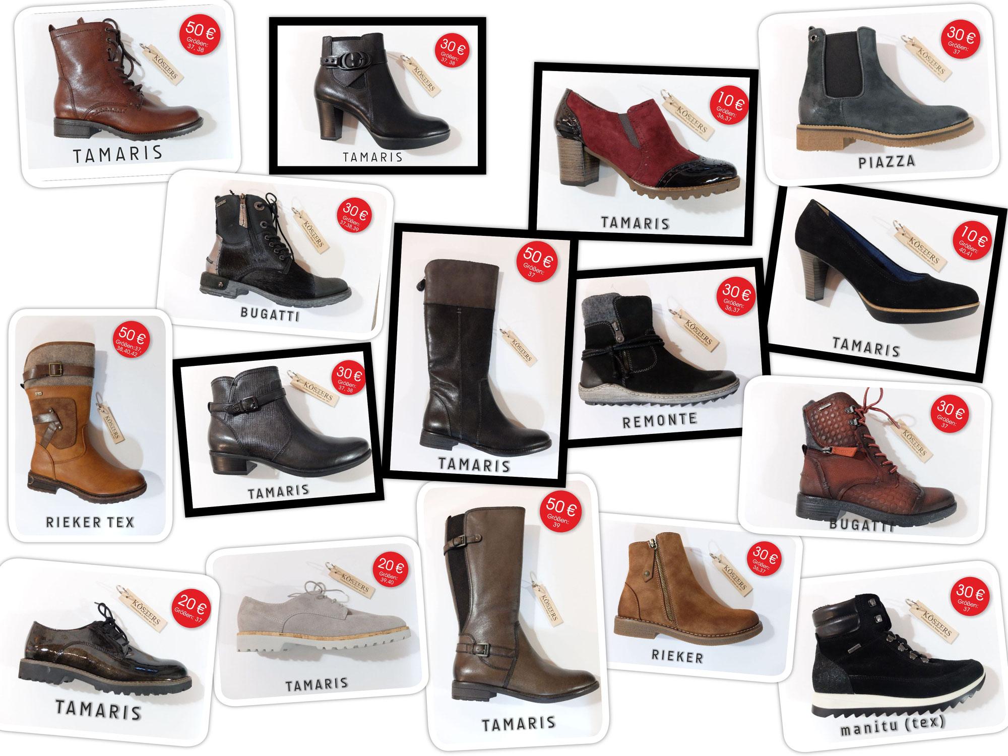 Wir haben noch ein paar Schuhe gefunden, die gerne gekauft werden wollen.