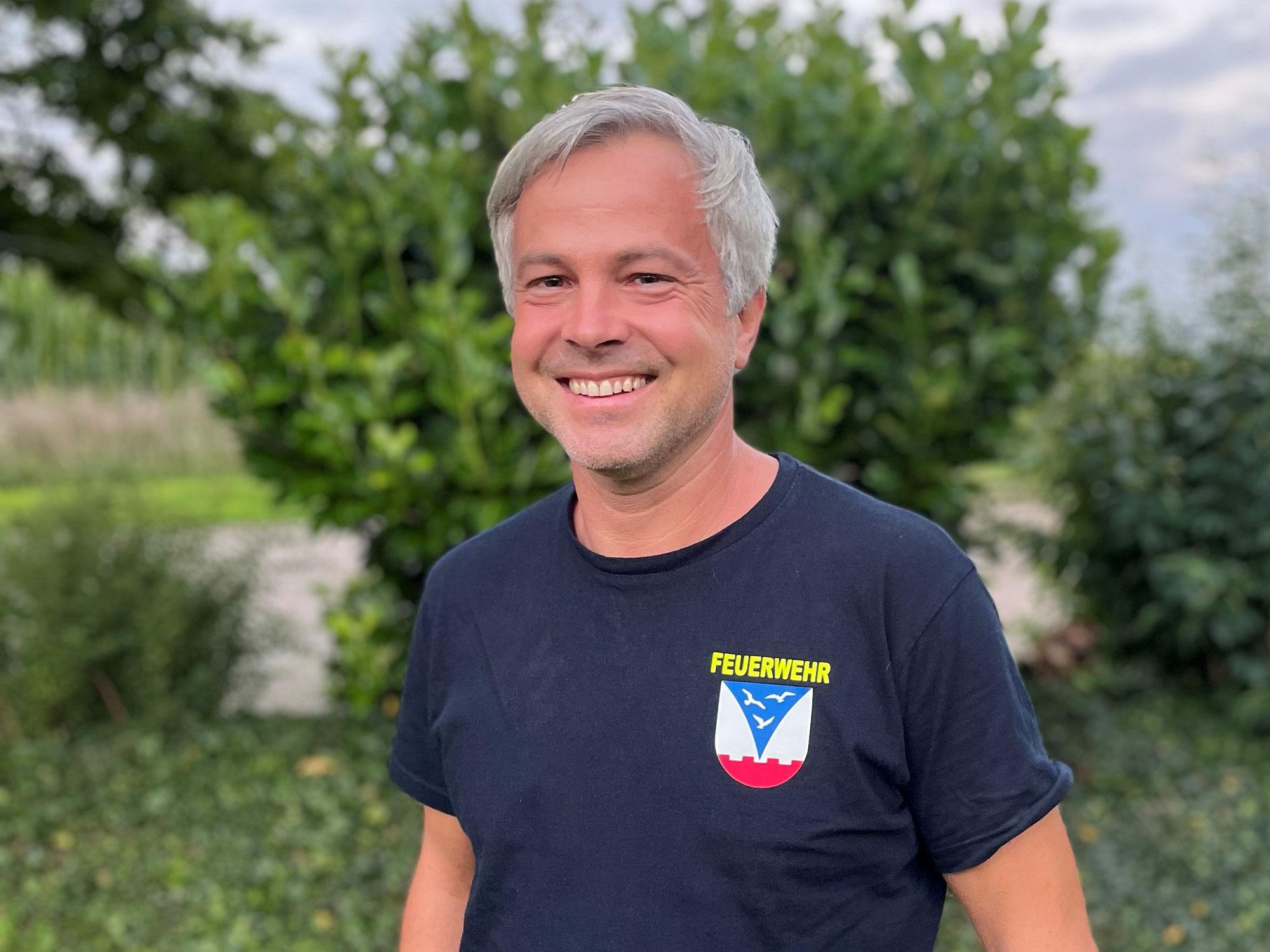 Herzlichen Glückwunsch zur Wiederwahl, Wehrführer Philipp!