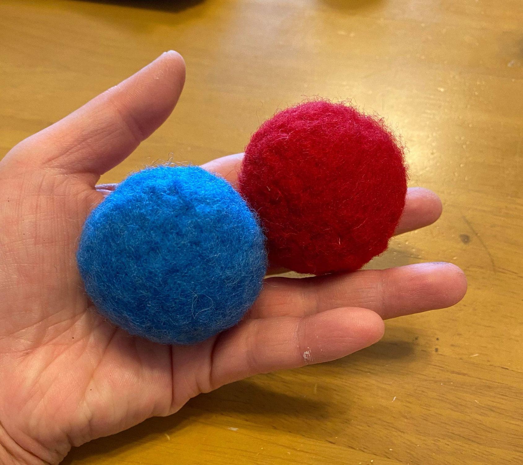 羊毛フェルトボールと算数ー小学生低学年STEAMクラス