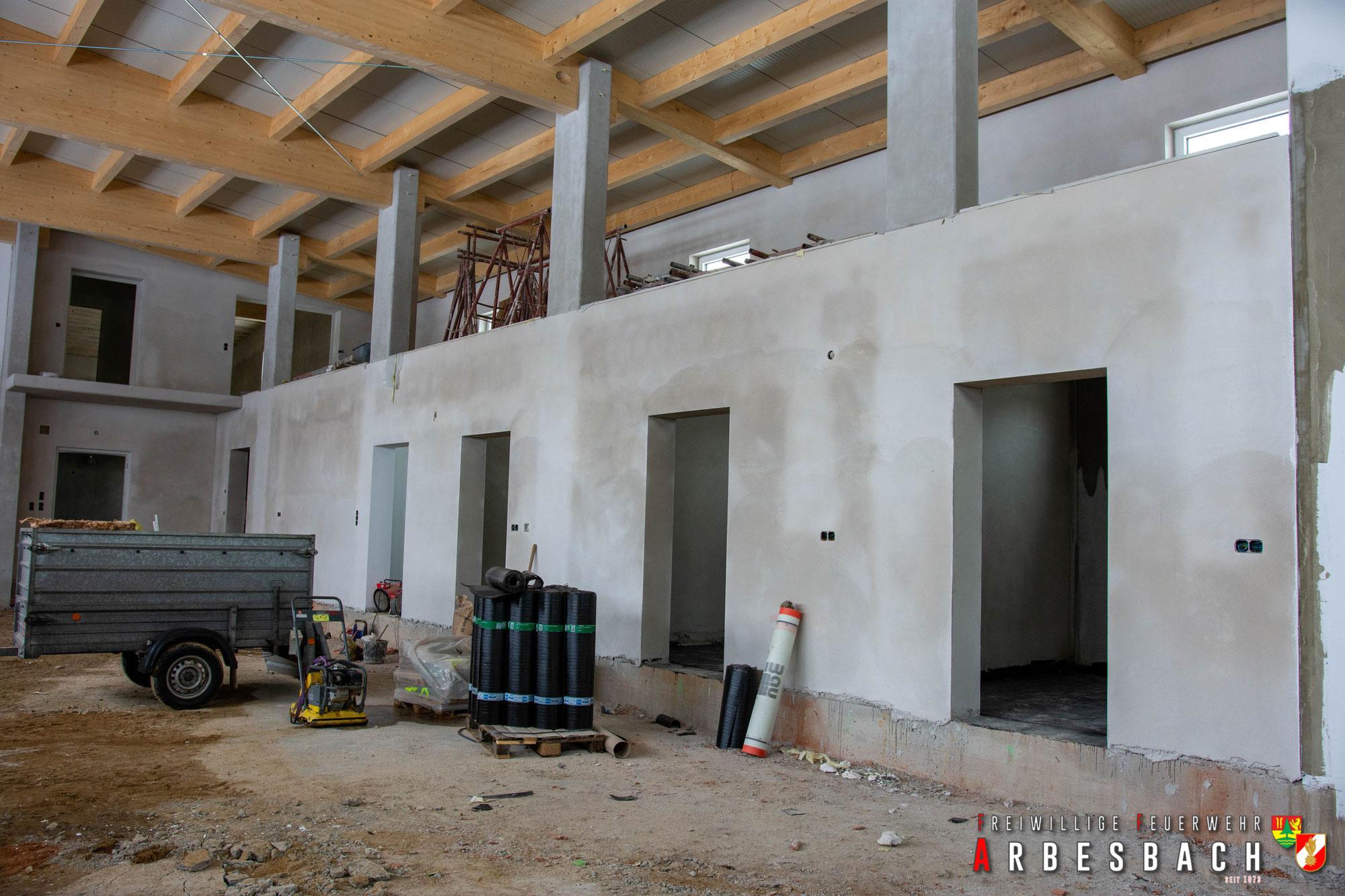 Baufortschritt FF-Haus Neubau | 20.03.2020