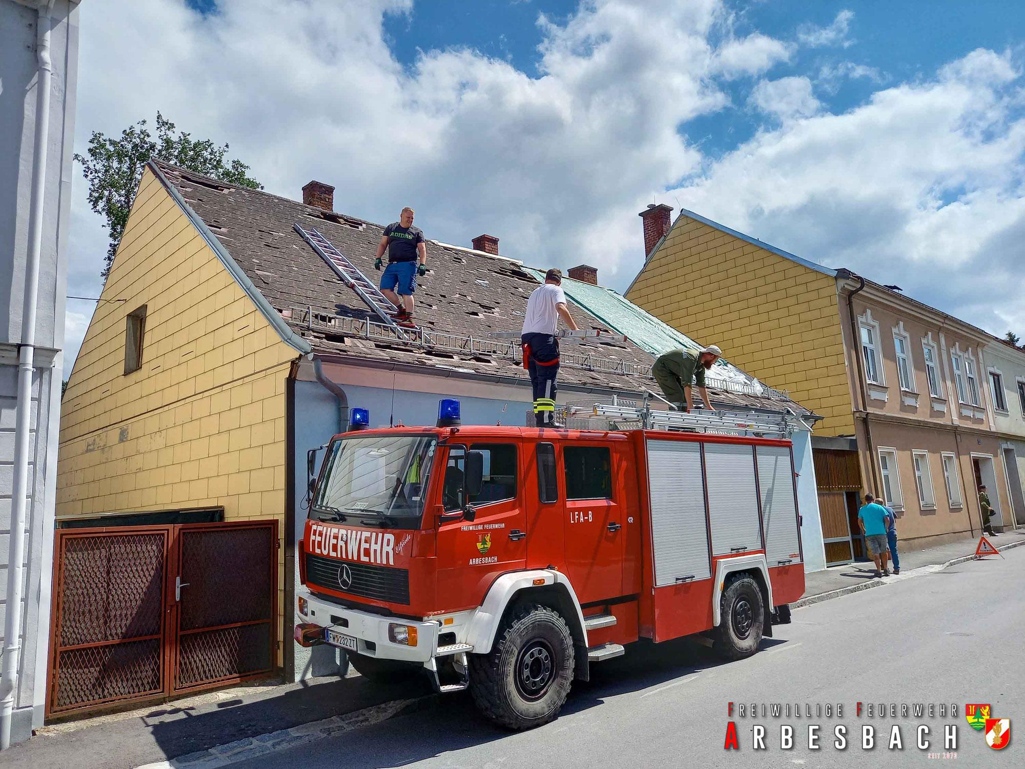 KHD-Einsatz in Allentsteig - Hagelschäden | 25.06.2021