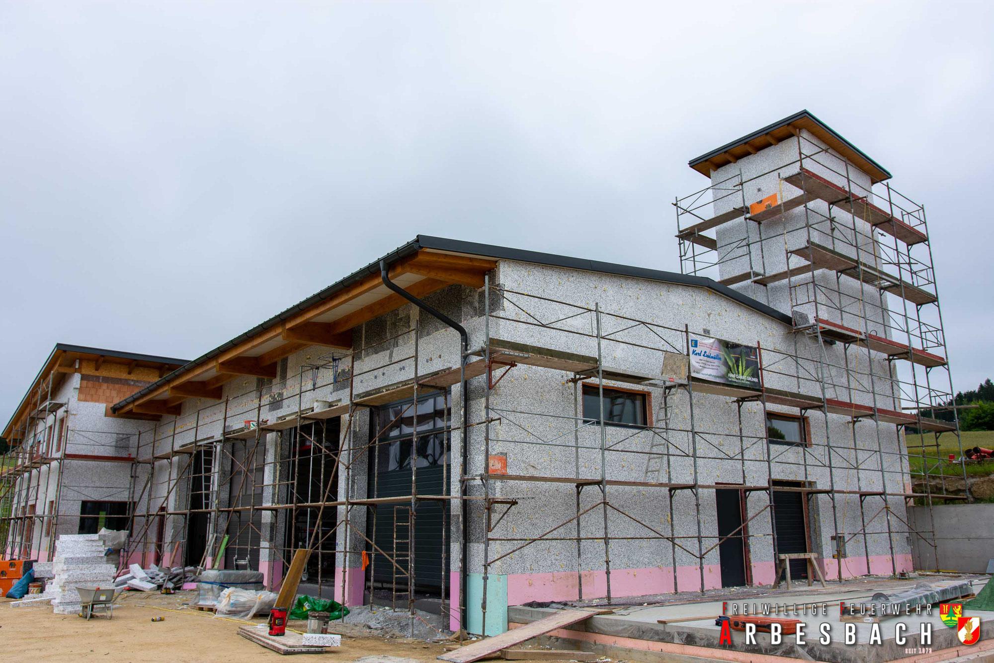 Baufortschritt FF-Haus Neubau | 07.07.2020