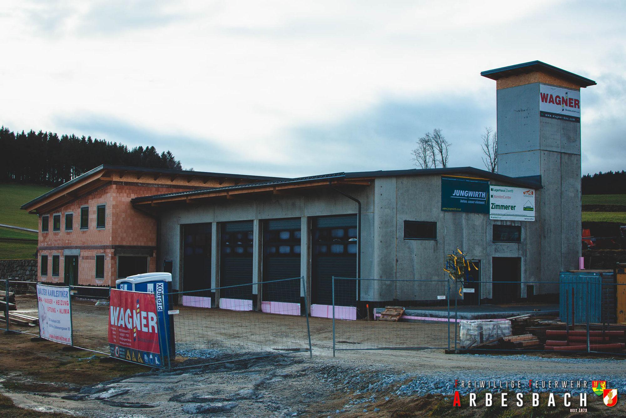 Baufortschritt FF-Haus Neubau | 23.12.2020