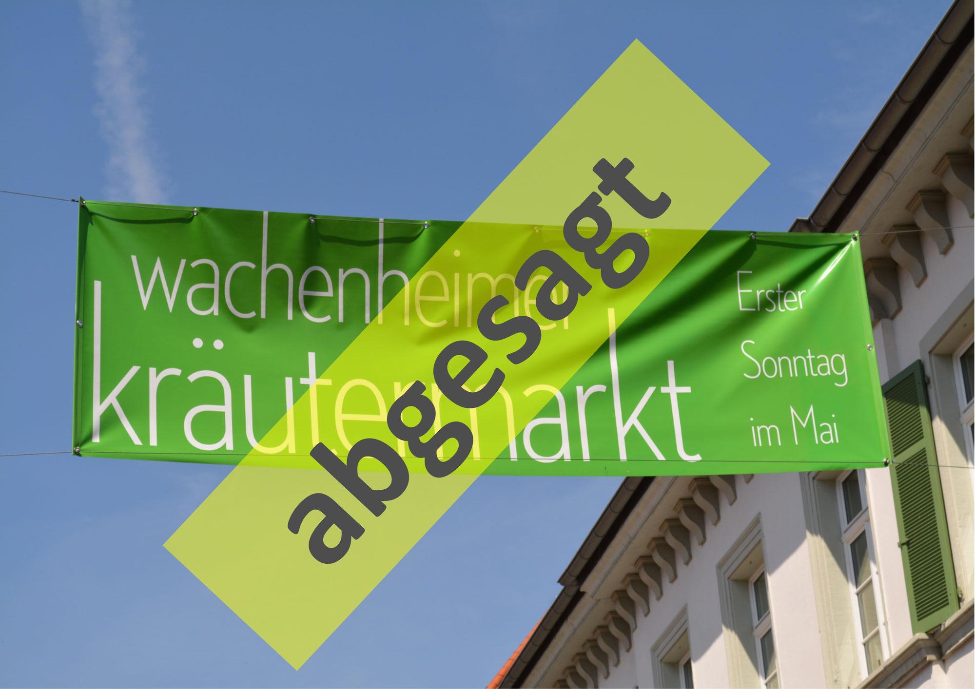 Wachenheimer Kräutermarkt am 9. Mai 2021 ist abgesagt.