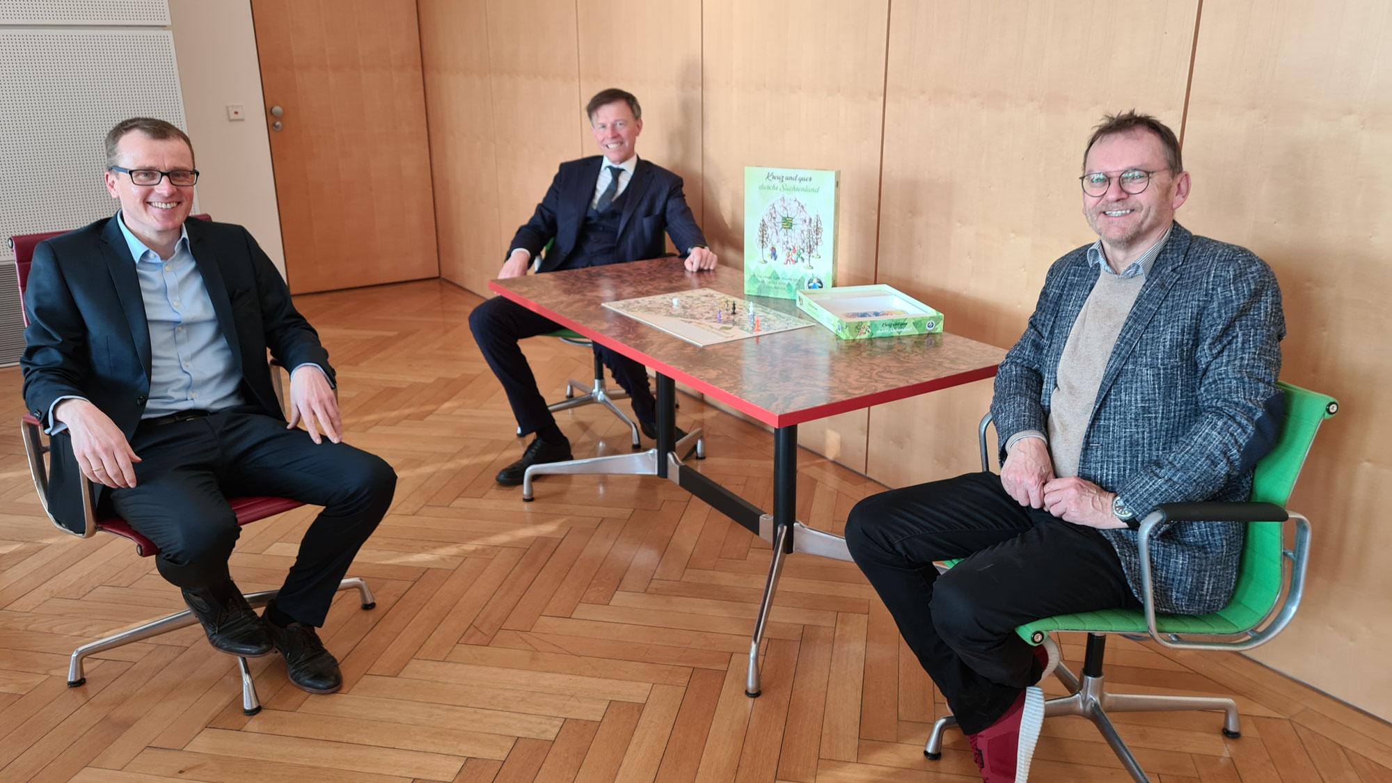 Erzgebirger präsentiert Sachsenspiel