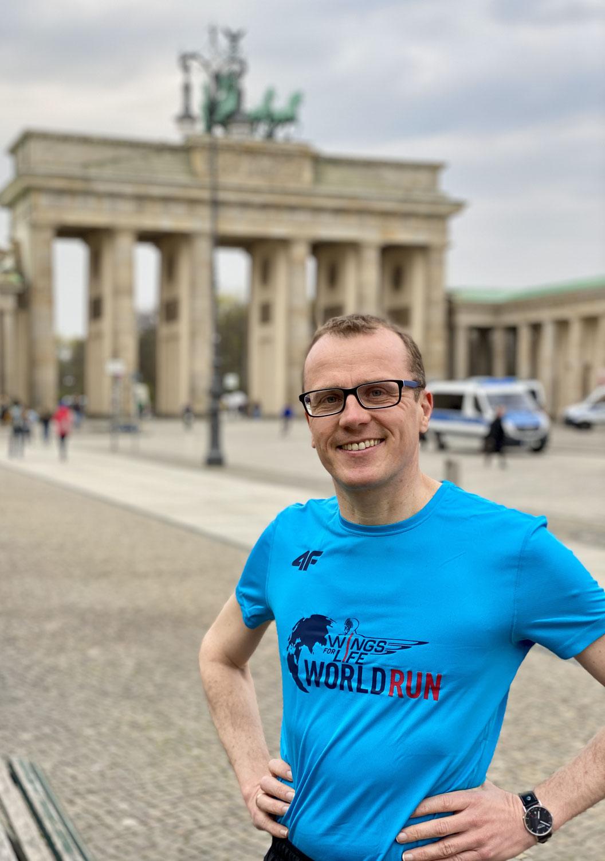 Bundestagsabgeordneter wirbt für World Run am 9. Mai 2021