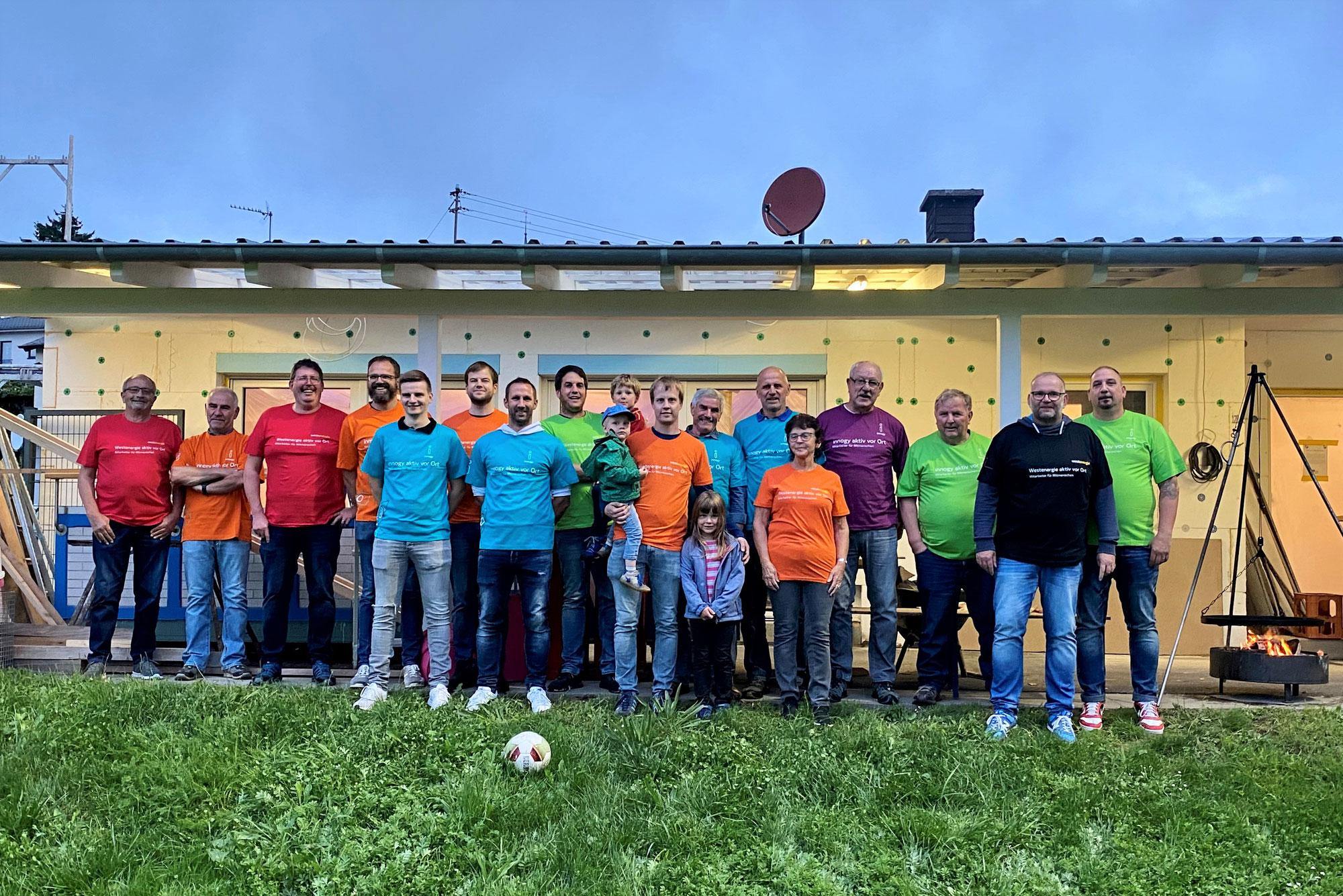 Helferfest im renovierten Vereinsheim