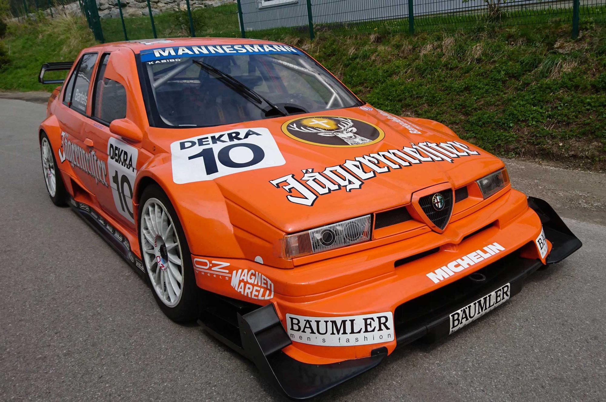 Alfa 155 TI V6 ITC 1996 Bartels - 6./7. Mai Hockenheimring