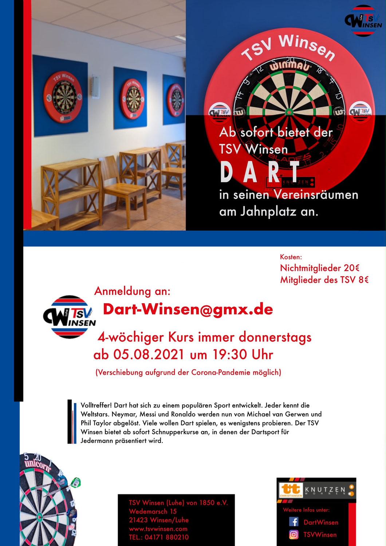 Dart  im TSV Winsen