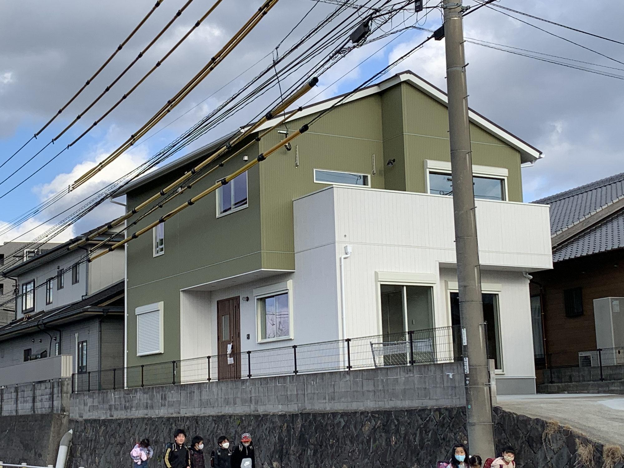 久山町の建物が完成