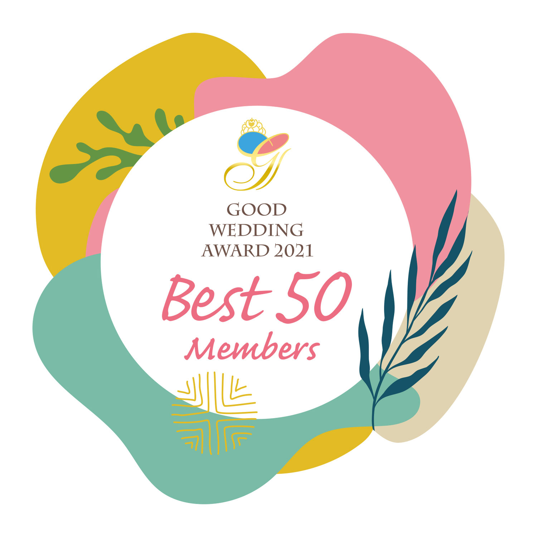 GOOD WEDDING AWARD 2021 BEST50 member 選出のお知らせ