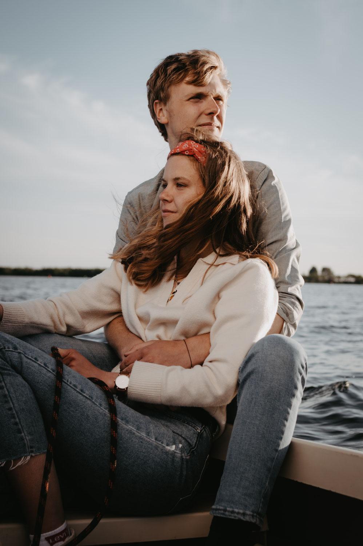 Zeilen en longboarden bij het veluwemeer! // Geert & Katelijn