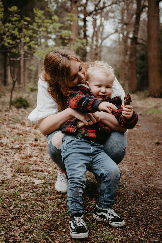 Familieshoot in het bos // Huis ter Heide