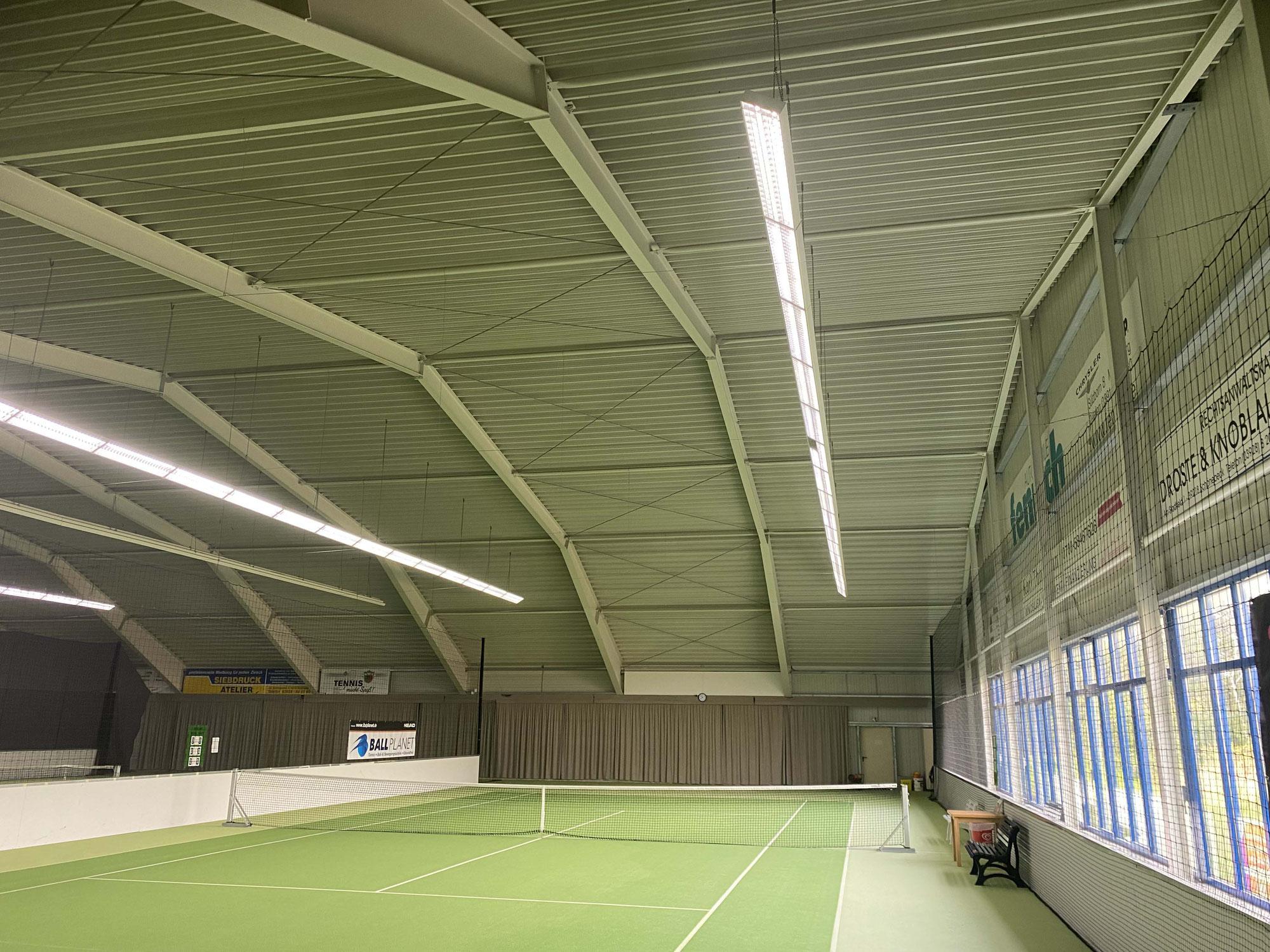 Tennis im Winter jetzt auch in Schönebeck möglich!