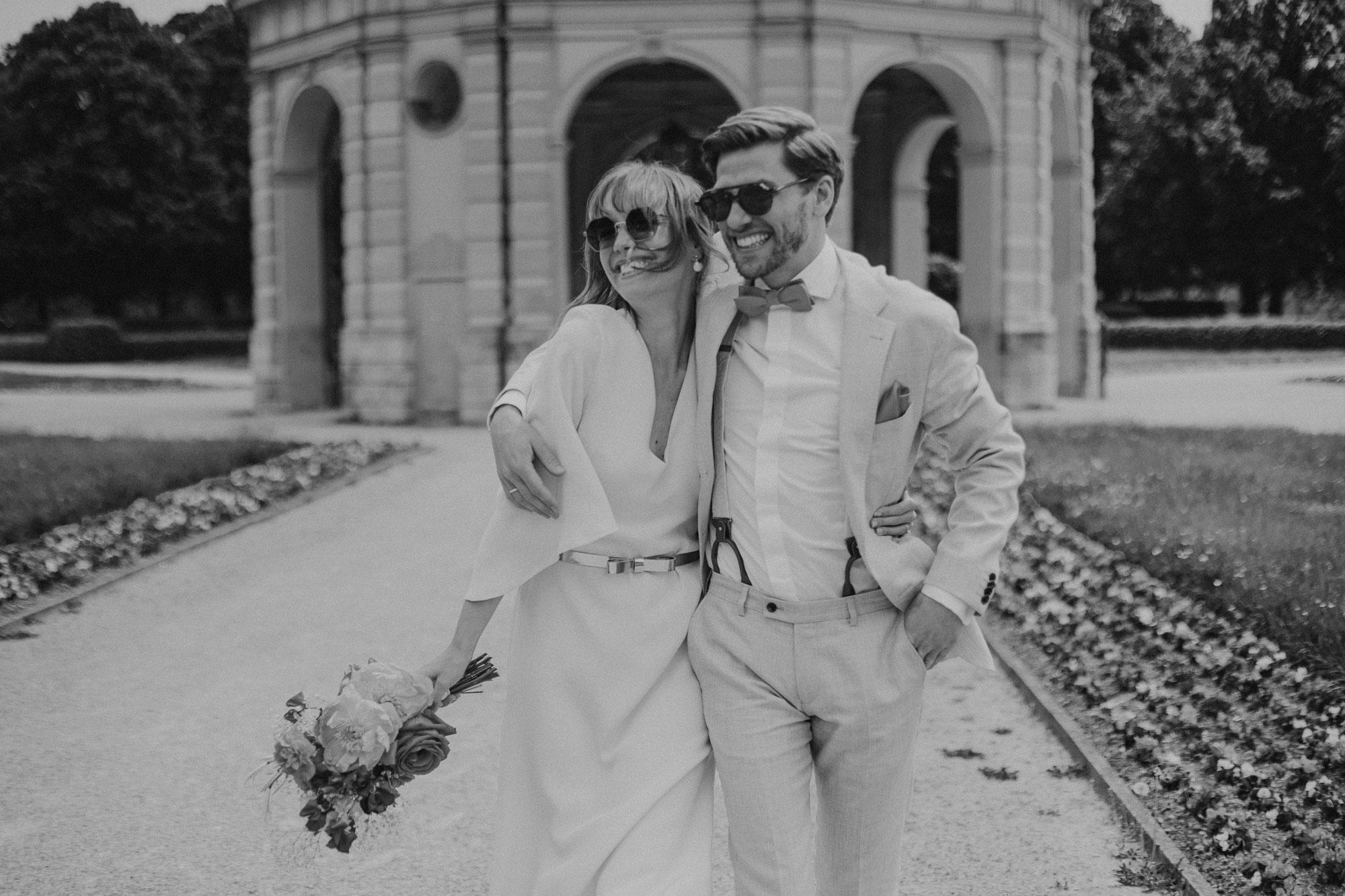 Alisa und Stefan's standesamtliche Hochzeit in der Mandlstraße in München