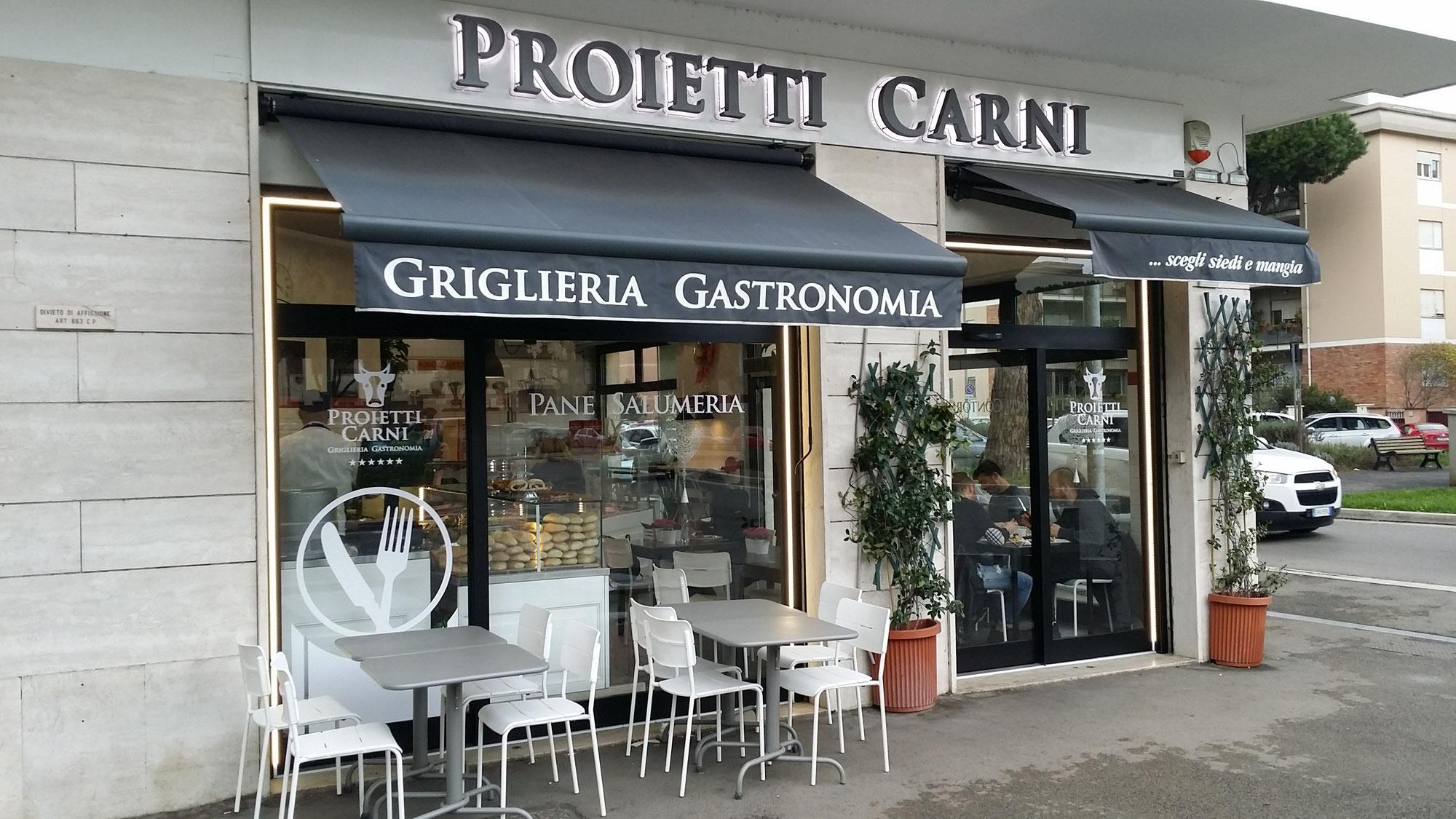 Progettazione negozi e locali commerciali a roma brand design insegne luminose imprinting roma - Diva nails roma ...