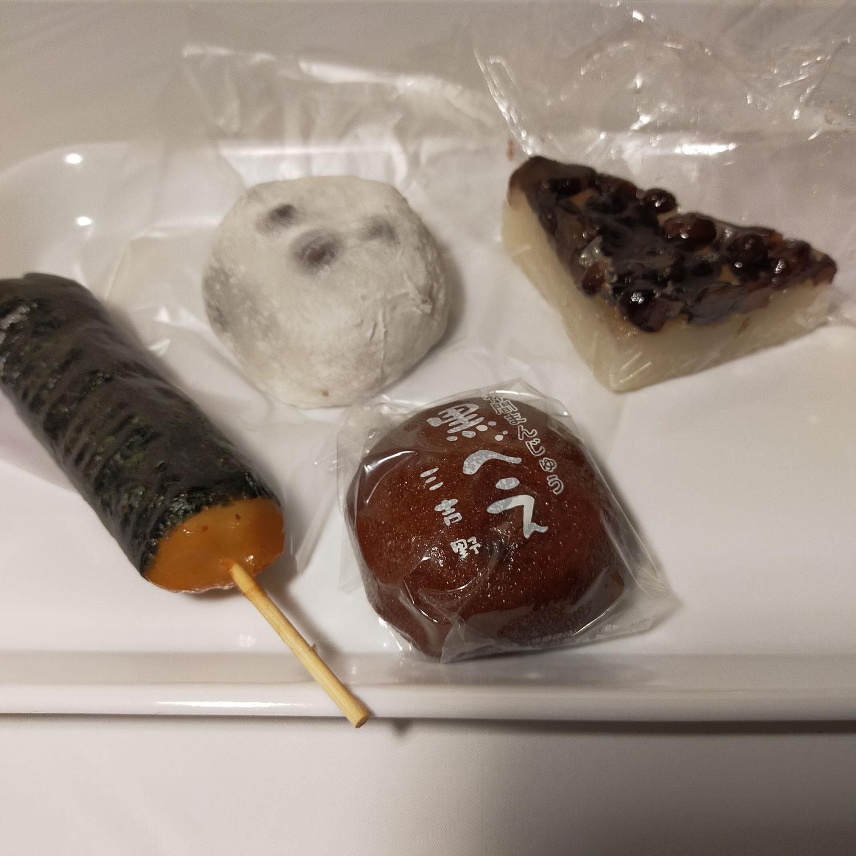 御菓子司「三吉野」行ってきました「水無月・黒べえ・大福」