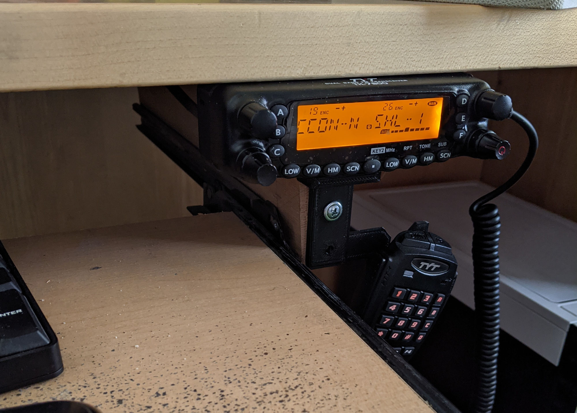 The budget friendly TYT TH-7800 Dual Band Radio