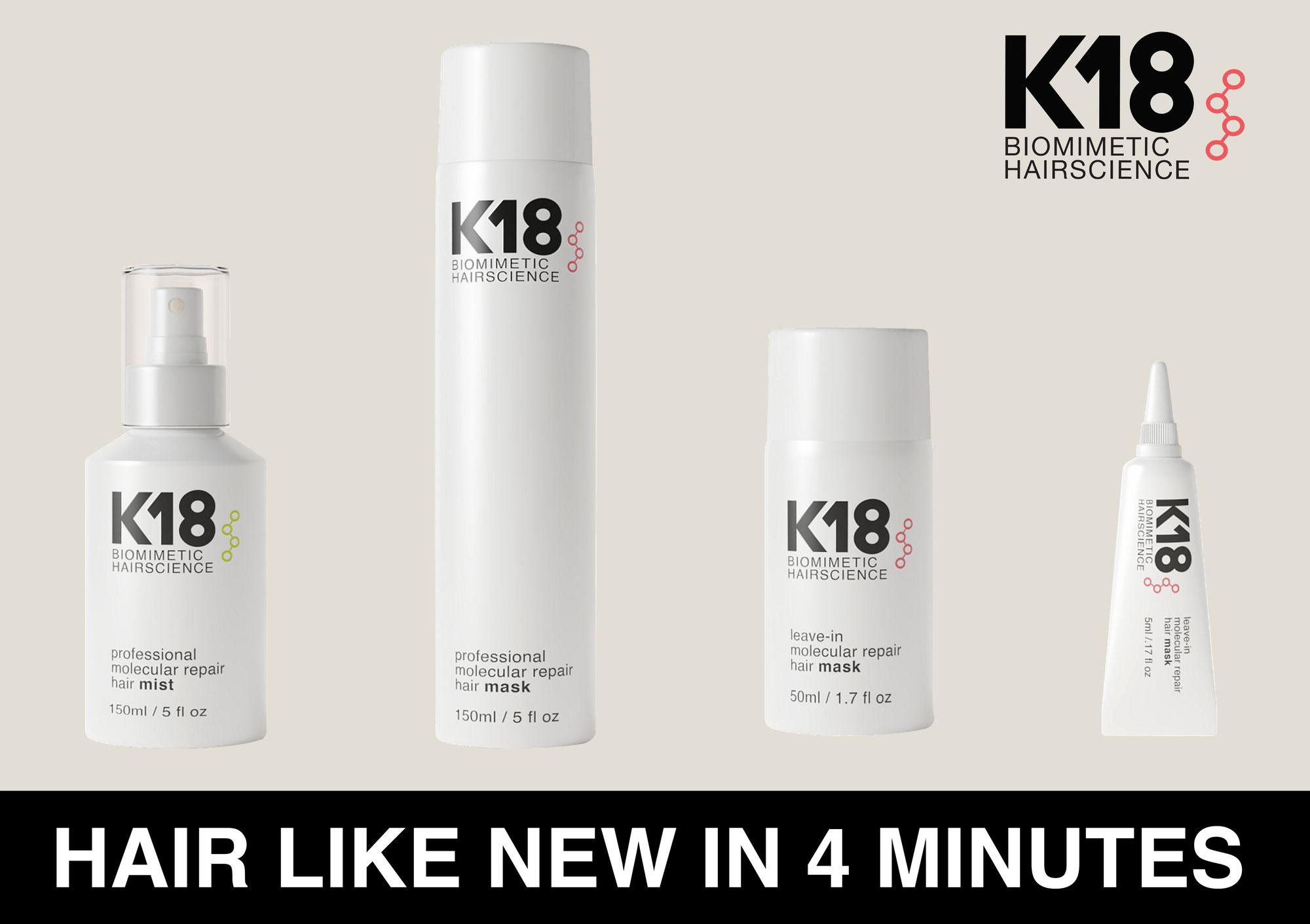 K18: Herstel je haar in 4 minuten!