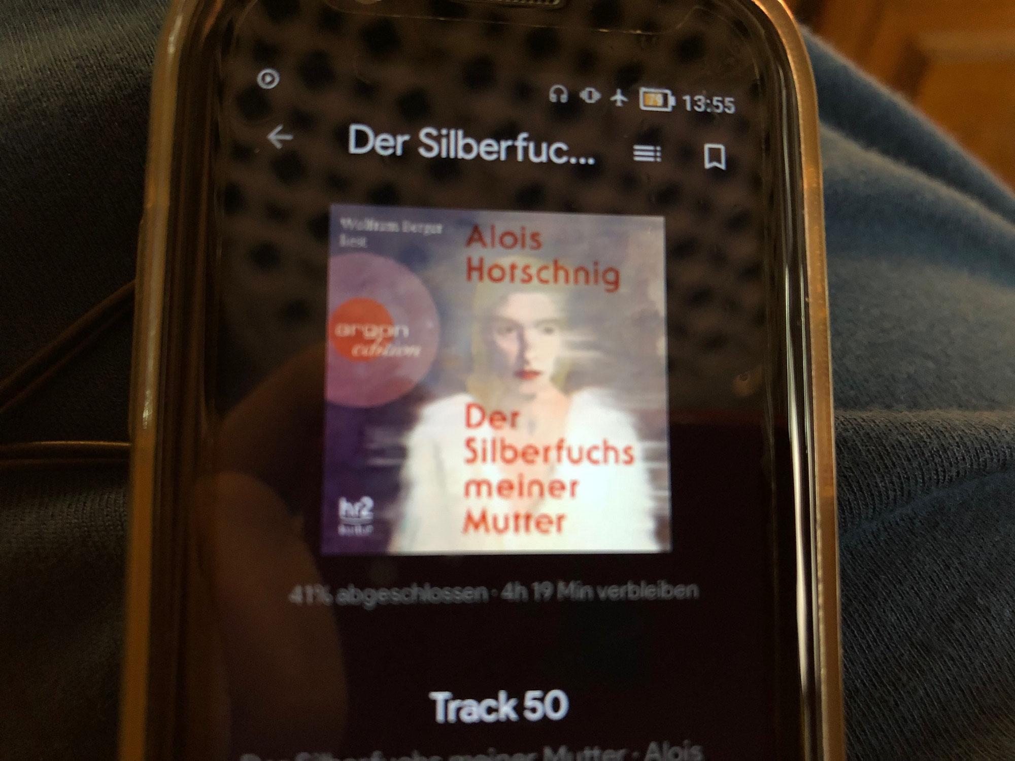 """Hörbuchrezension """"Der Silberfuchs meiner Mutter"""""""
