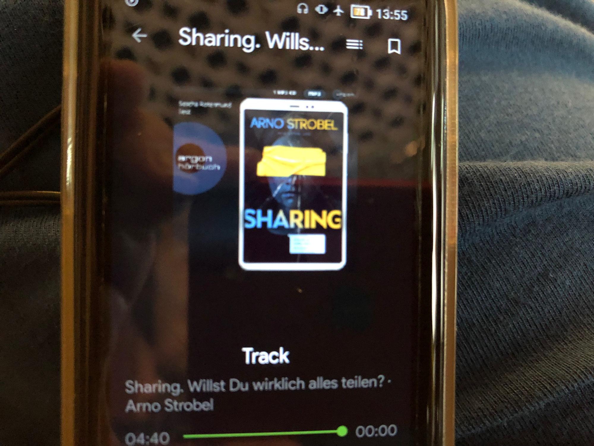 """Hörbuchrezension """"Sharing - willst du wirklich alles teilen"""""""