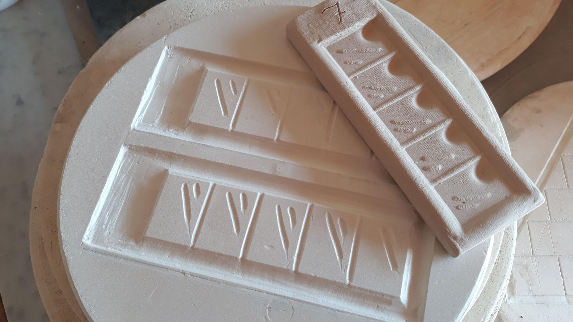 Atelier Céramique : recette PLATRE