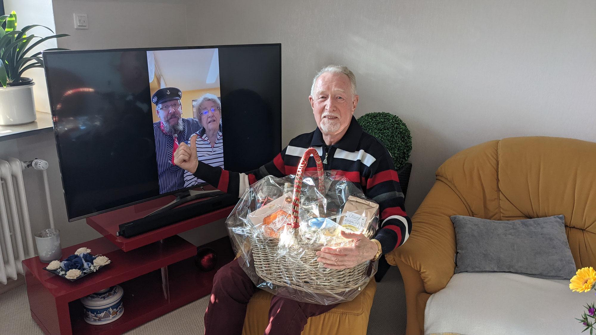 Wir gratulieren Dir Friedel zum 80. Geburtstag!