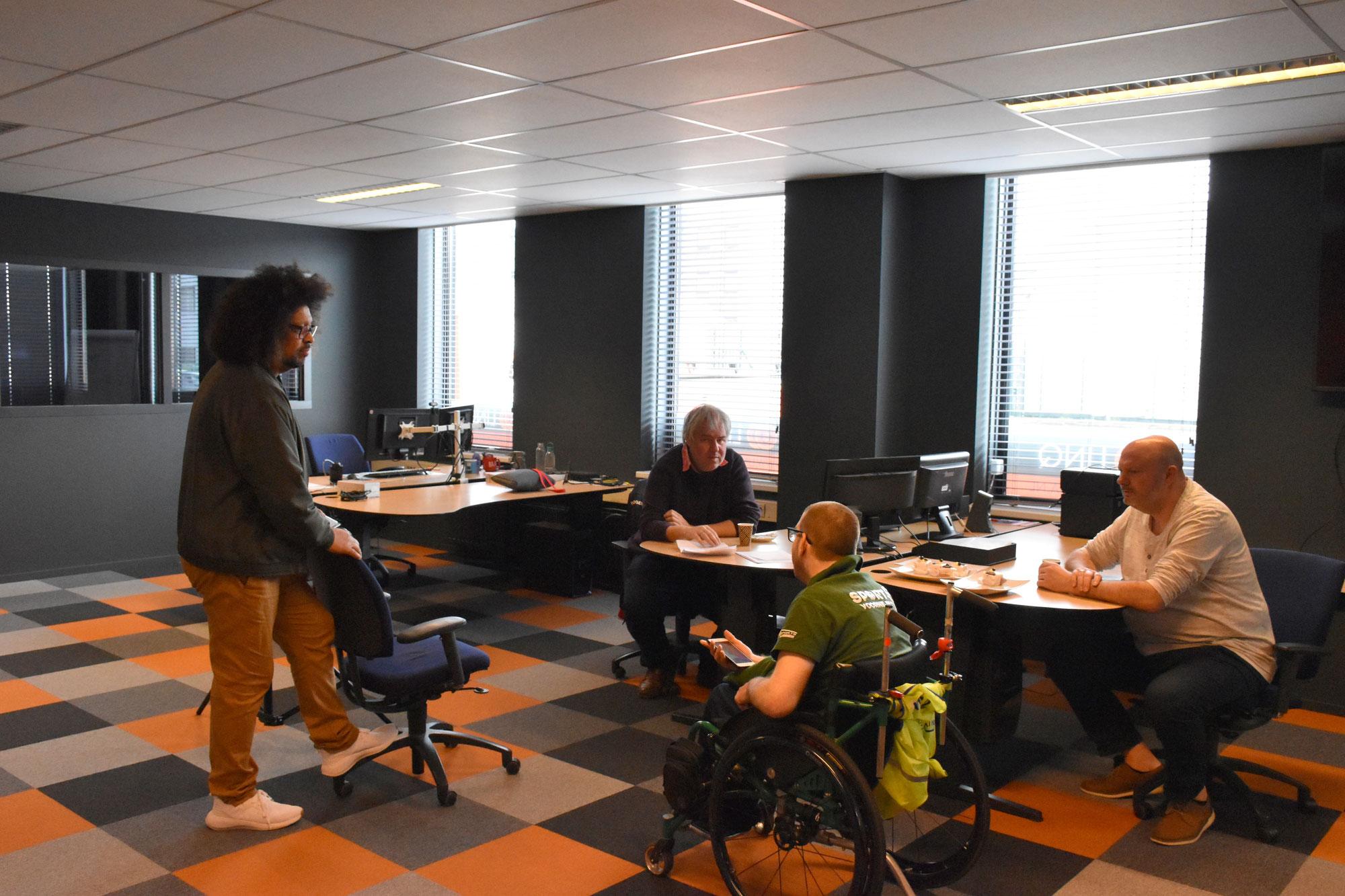 Radio Jubileumuitzending Sport op Voorne Putten..