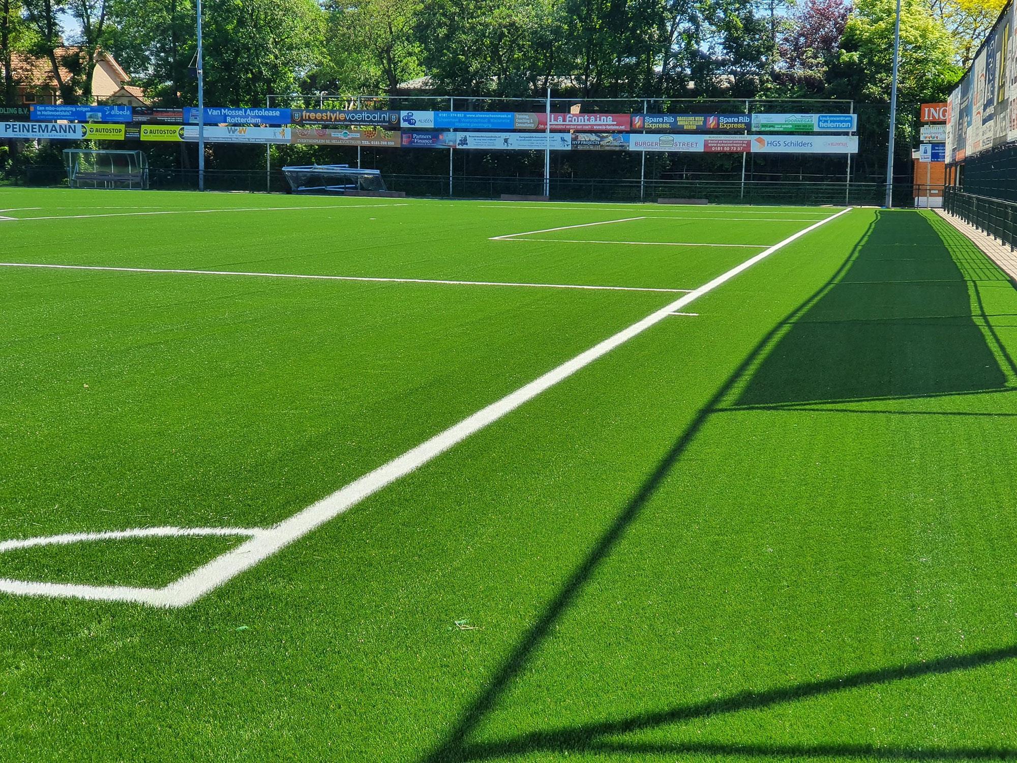 vv Hellevoetsluis start 31 juli 2021 de voorbereiding op het nieuwe voetbalseizoen.