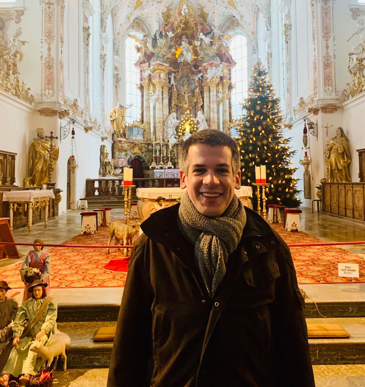 Neuer Kirchenmusiker im PV