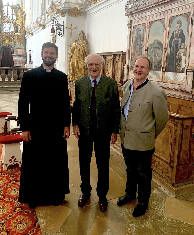 Patrozinium und königlicher Besuch in Rottenbuch